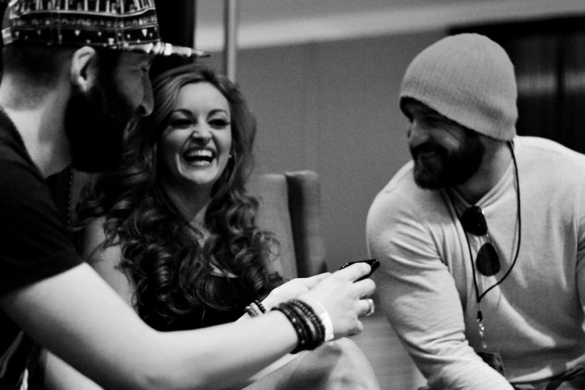 There is a reason why Maria Kanellis-Bennett and Mike Bennett are famous in the wrestling business.  They can't help but get