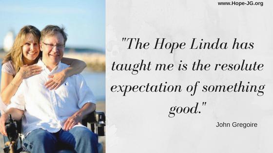 John and Linda Gregoire - Founders of Hope-JG.