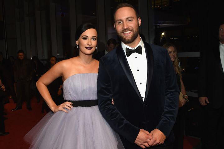 Musgraves and Kelly attend the 50th annual CMA Awards on Nov. 2, 2016.