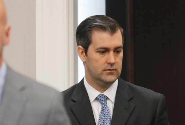 Former North Charleston police officer Michael Slager, 34.