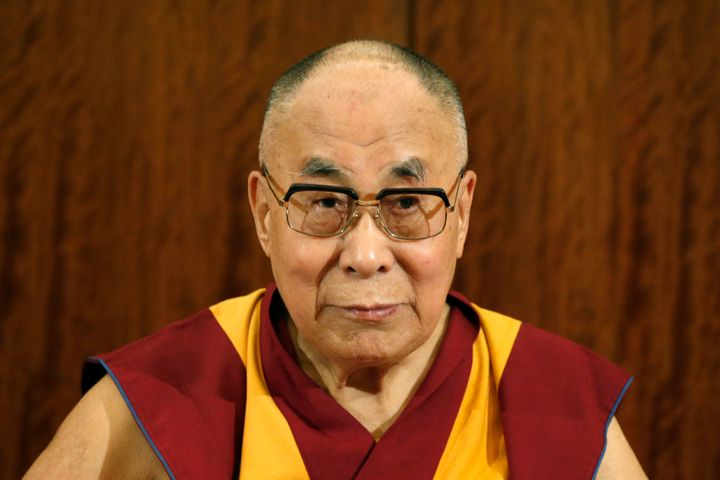 Tibet's exiled spiritual leader the Dalai Lama.