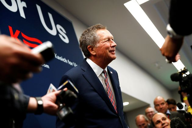 Ohio Gov. John Kasich was one of several Republicans who got votes from late-deciding voters wary of...