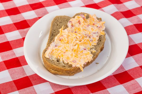 """We don't care if you don't like mayo, you still must give pimento cheese a try. This <a href=""""http://www.huffingtonpost.com/2"""