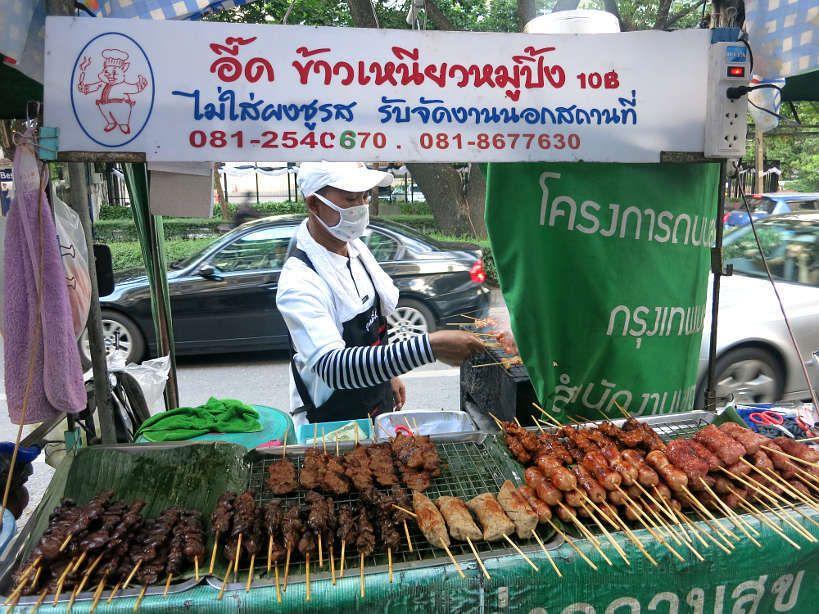 Street vendor in Bangkok