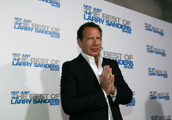 Garry Shandling arrives at the wrap party and DVD release for 'The Larry Sanders Show' at Cut on April 10, 2007.