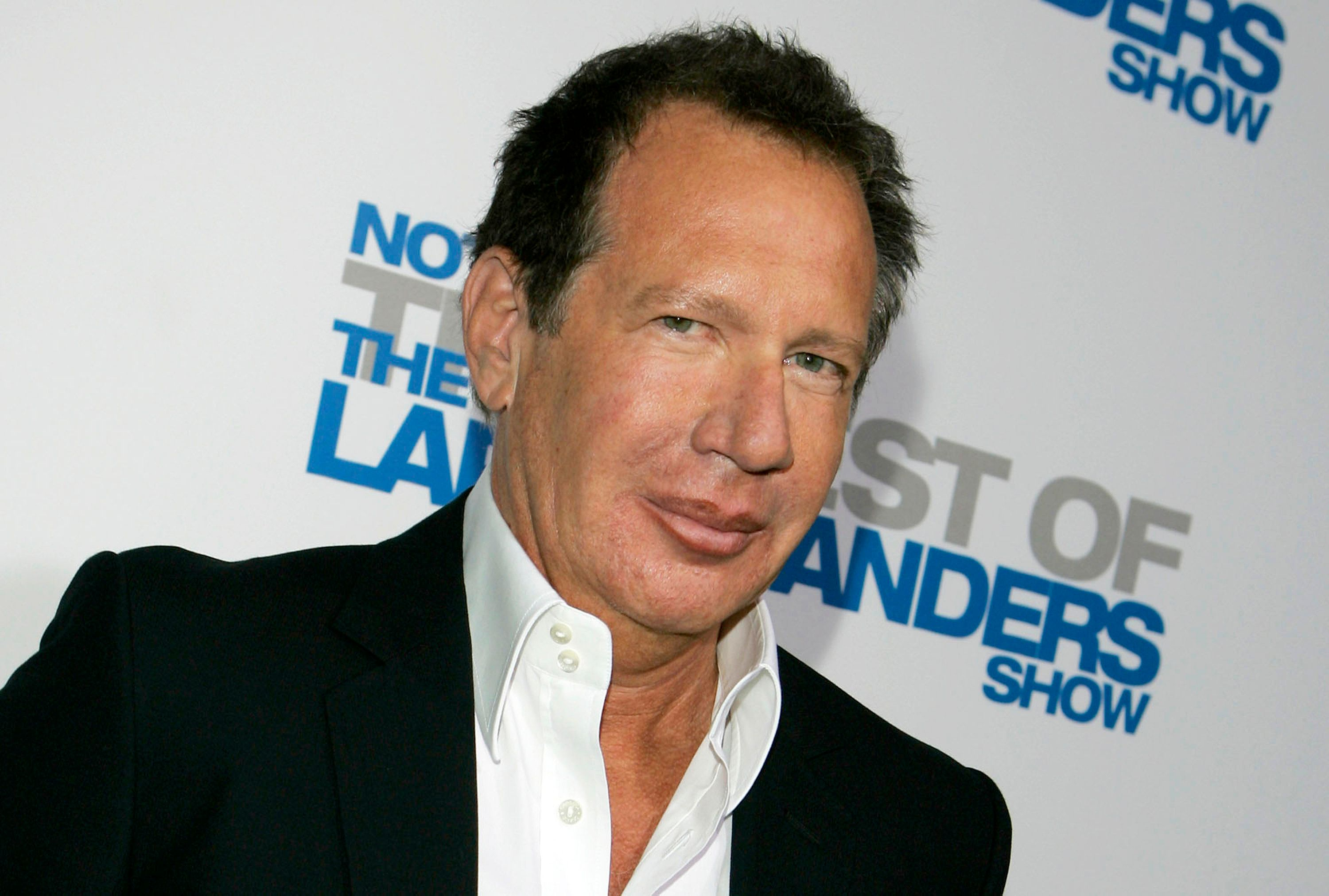 "FILE - In this April 10, 2007 file photo, actor Gary Shandling arrives at the wrap party and DVD release for ""The Larry Sanders Show"" in Beverly Hills, Calif. Dozens of paintings and other works of art from the estate of Shandling will be offered for sale at an art show in New Mexico this week. (AP Photo/Chris Carlson, File)"