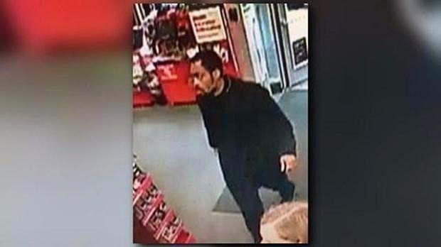 The alleged suspect.