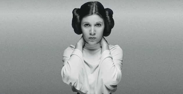 Carrie Fisher as Star Wars' Princess