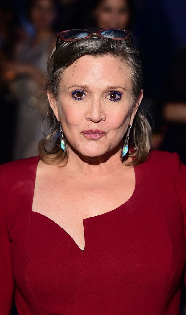 Carrie suffered a heart attack on a plane last