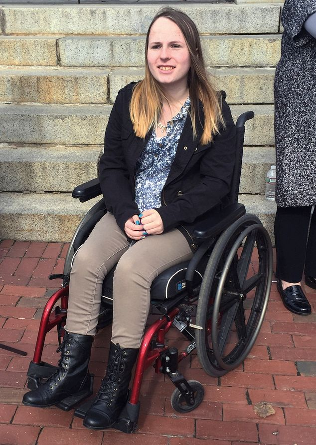 Since Leaving Boston Children's, Justina Pelletier has been confined to a wheel chair.