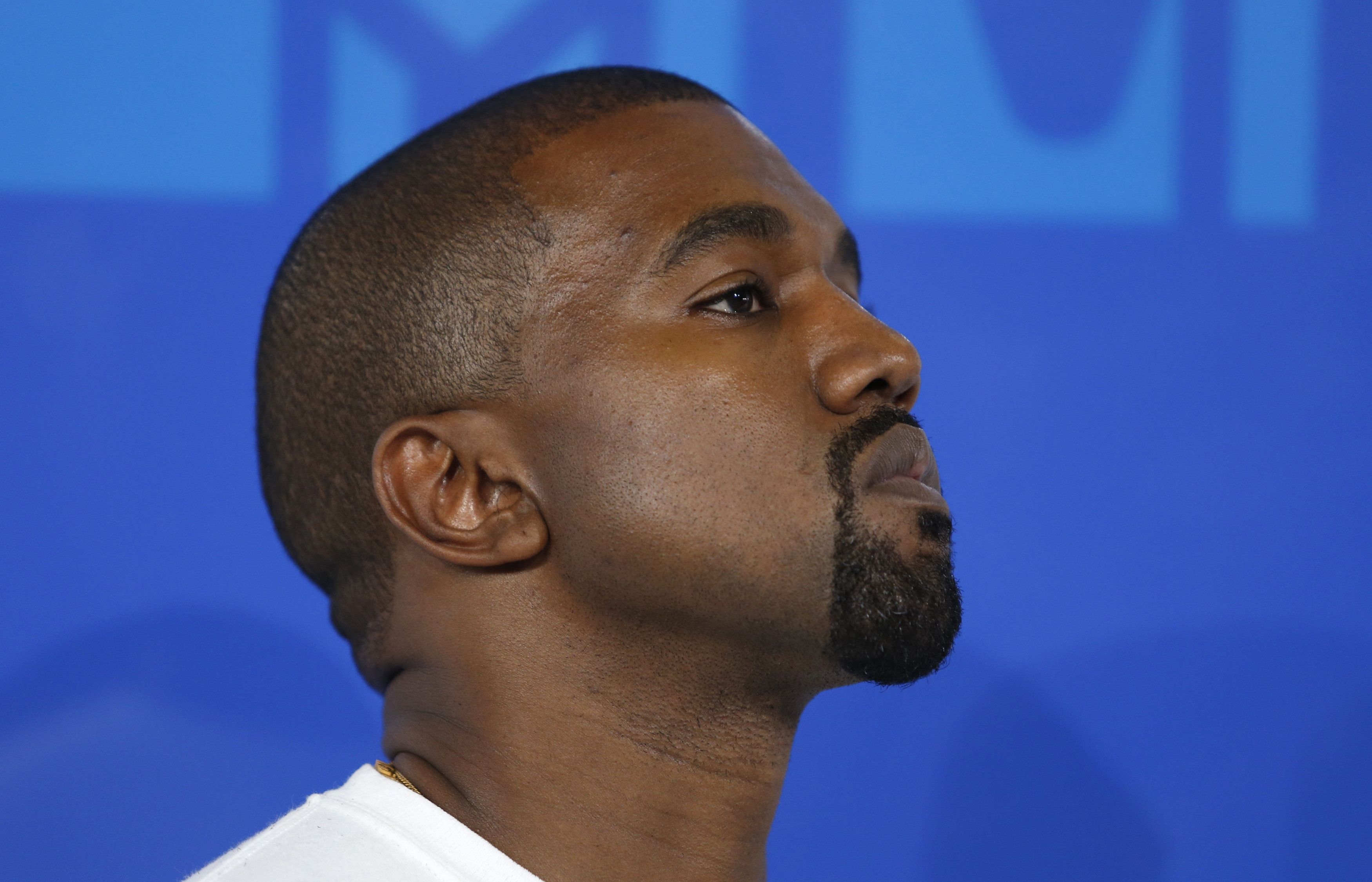 Kanye West said Sunday that he is running for president, but not this time around.