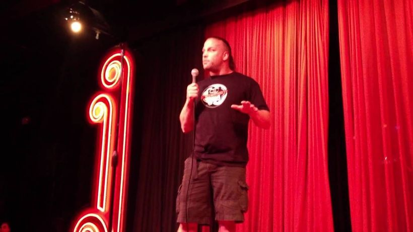 These days, RVD makes crowds roar with laughter during his standup shows.