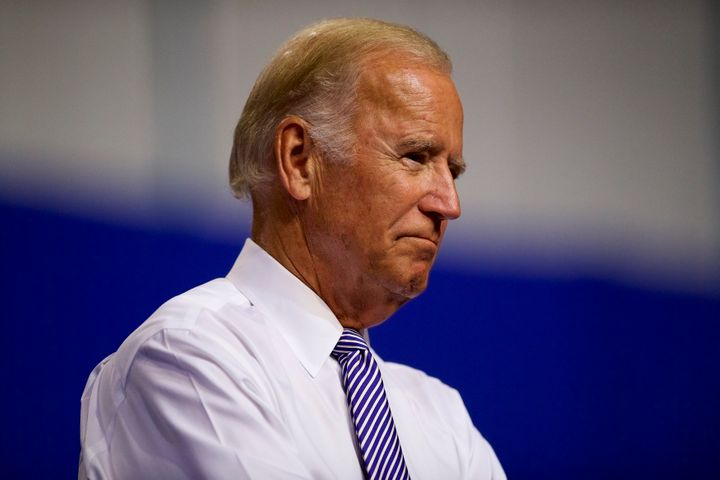 To run or not to run -- that is the question for Joe Biden.