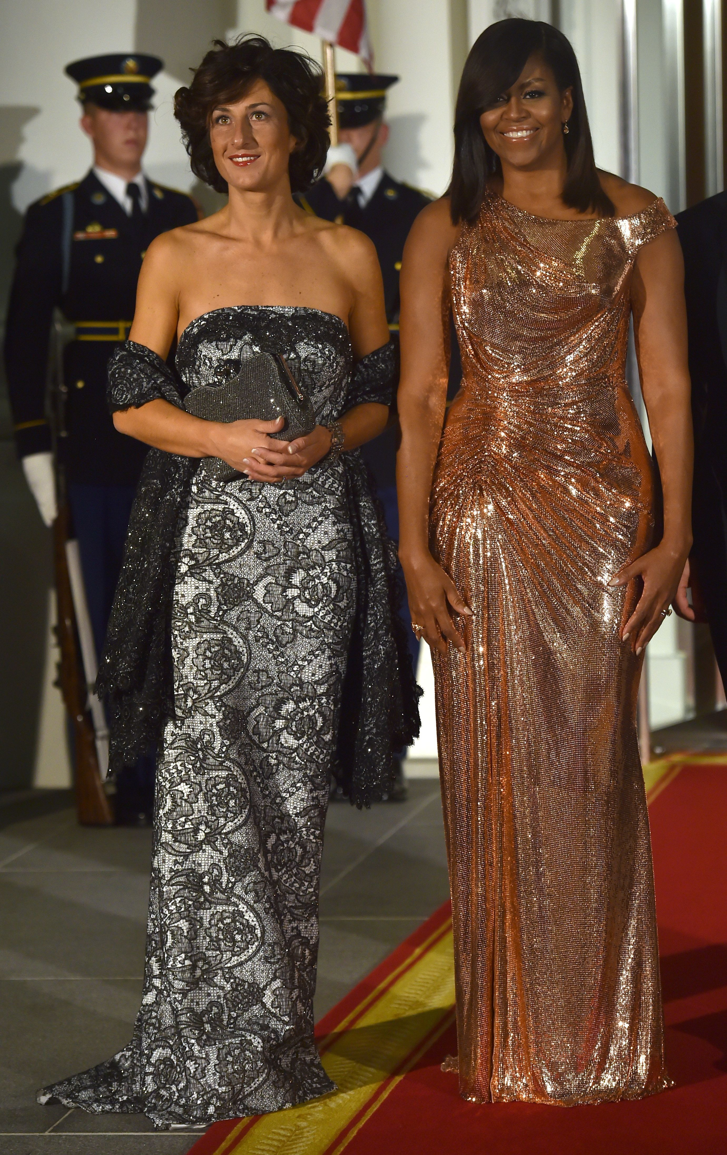 One Tear-Jerking Last Look At Michelle Obama's Best Outfits Of