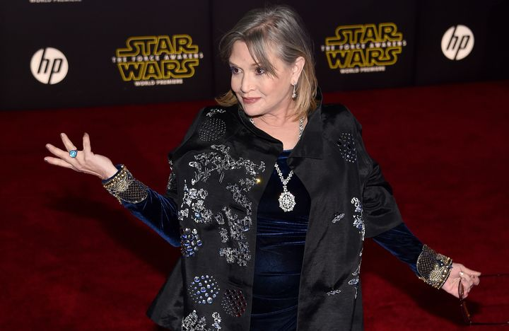Apparently, Carrie Fisher gave great relationship advice.