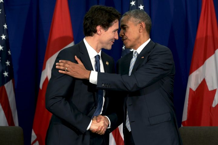 Prime Minister Justin Trudeau and President Barack Obama plan a big show of friendship this week.