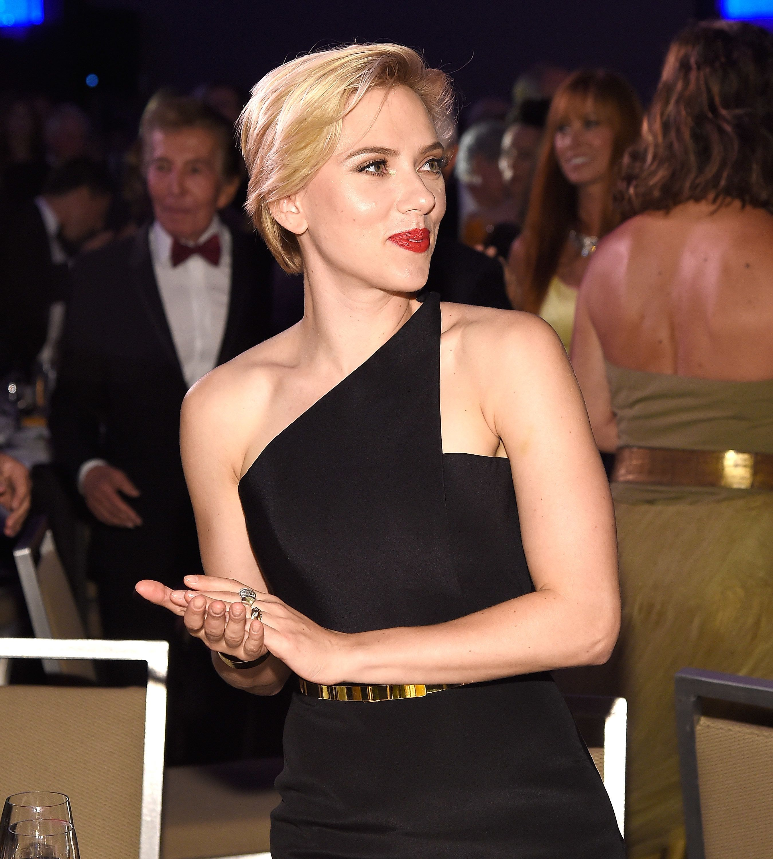 Scarlett Johansson topped Forbes annual list of highest grossing actors, with her filmsbringing in $1.2 billion worldwi