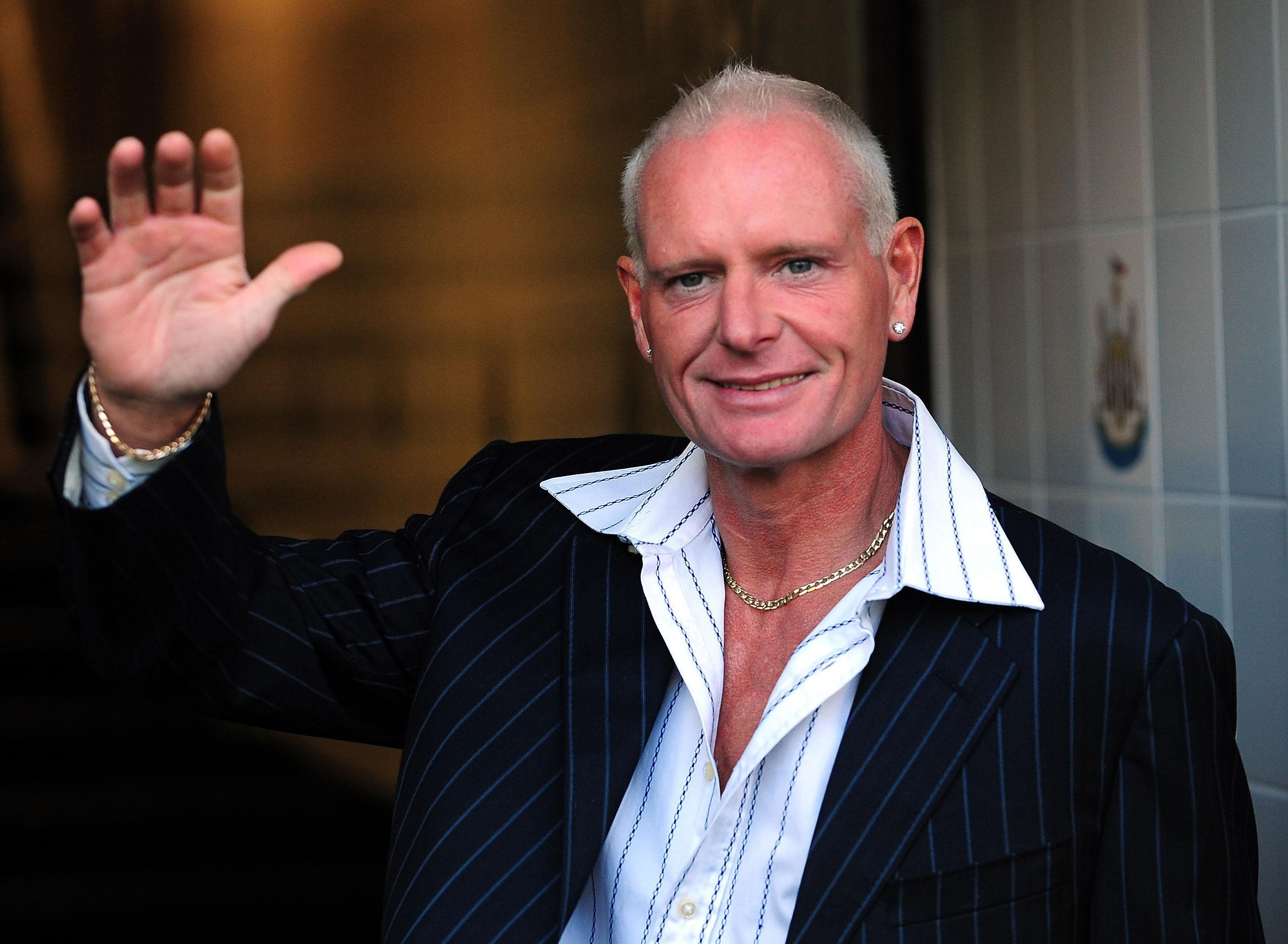 Gazza Hospitalised After Being 'Kicked Down Stairs Of London