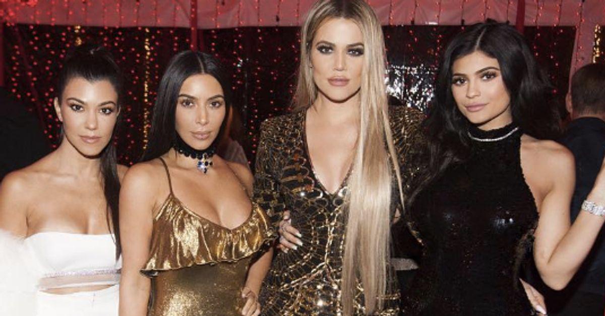 Kim Kardashian Kendall Jenner And Kylie Jenner S Christmas Party