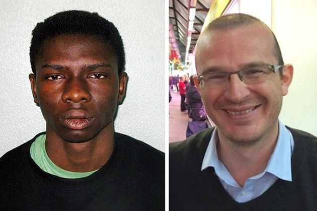 Femi Nandap, who stabbed to death renowned academic and new father Dr Jeroen Ensink