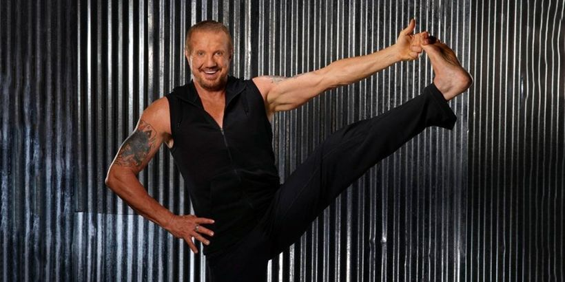 Diamond Dallas Page is a former World Champion in the professional wrestling circuit who also happens to be a yoga master.  F