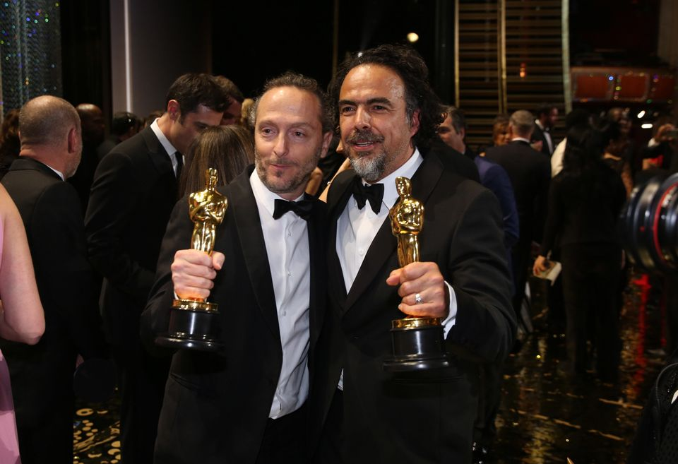 "The year was off to a winning start when Mexico's Alejandro G. Iñárritu <a href=""https://www.huffpost.com/"