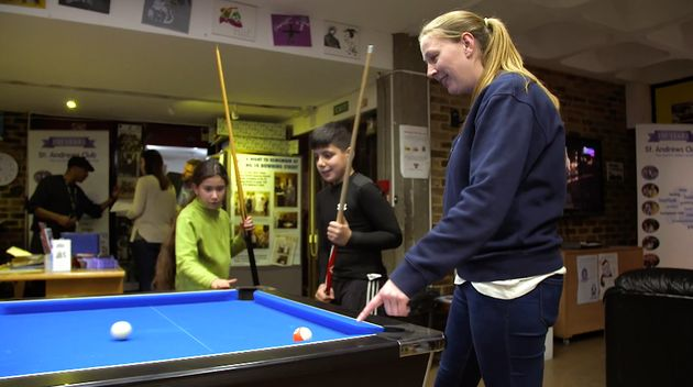 St Andrews Youth Club has benefited from Amazon's
