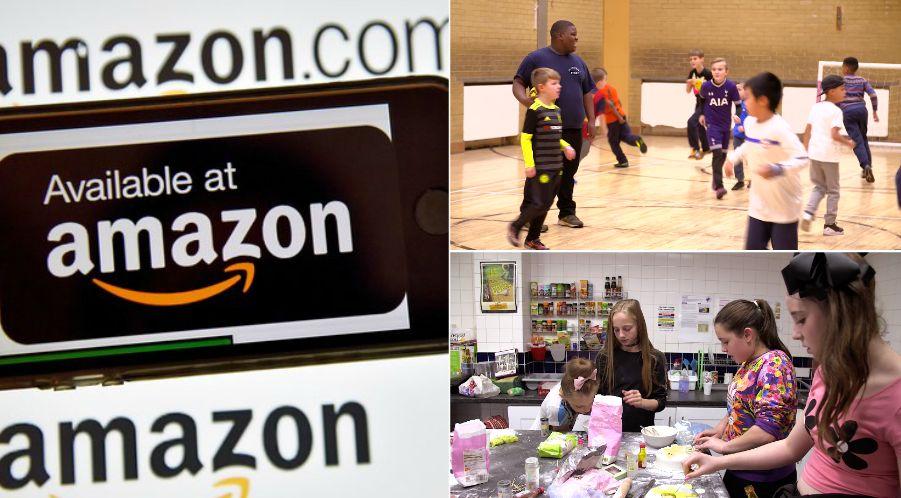 Amazon Has Donated £1.2m To Help 1,700 UK