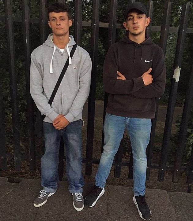 Reigan Knight (l) and Liam Phillips (r) who have died after a car