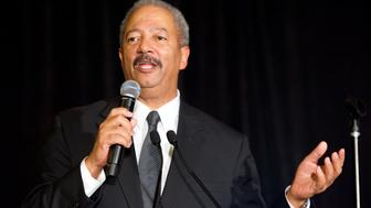 WASHINGTON, DC - SEPTEMBER 26:  Rep. Chaka Fattah is honored at the Congressional Black Caucus Foundation Inc.'s Chair Reception at the Marriott Marquis on September 26, 2014 in Washington, DC.  (Photo by Earl Gibson III/Getty Images)