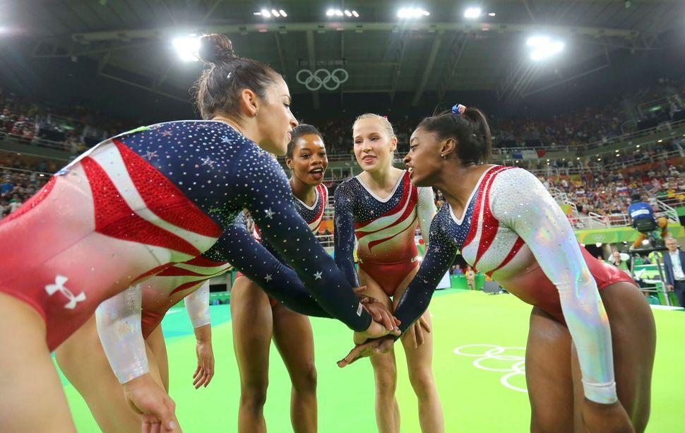 Alexandra Raisman (USA) of USA (Aly Raisman), Gabrielle Douglas (USA) of USA (Gabby Douglas), Simone Biles (USA) of USA, Madi