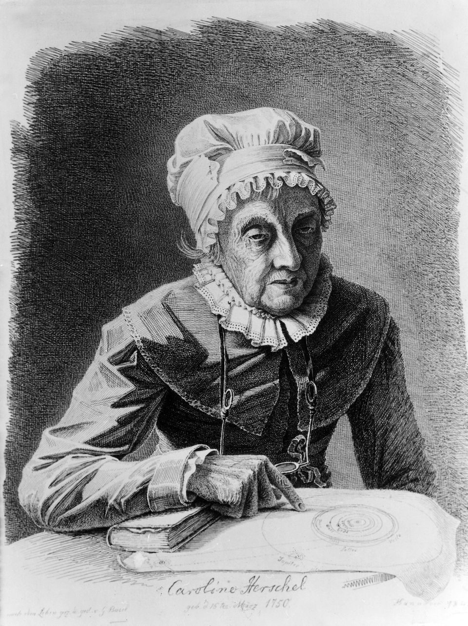 "<a href=""http://www.space.com/17439-caroline-herschel.html"" target=""_blank"">Caroline Herschel</a> was a German astronomer who"