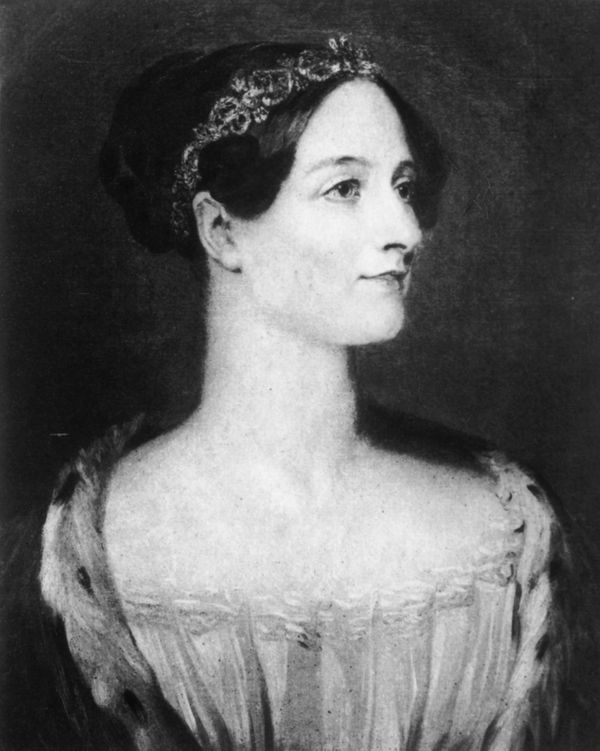 Ada Lovelace was a fascinating figure of the 1840s, a writer and mathematician who also just happened to be the daughter of B