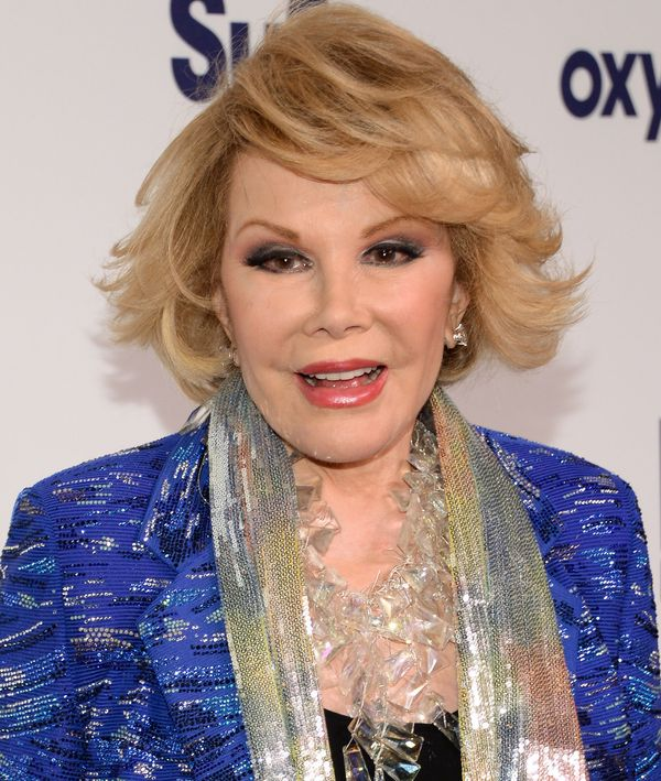 Joan Rivers dealtwith fertility issues and struggled to get pregnant after having her daughter, Melissa. She opened up