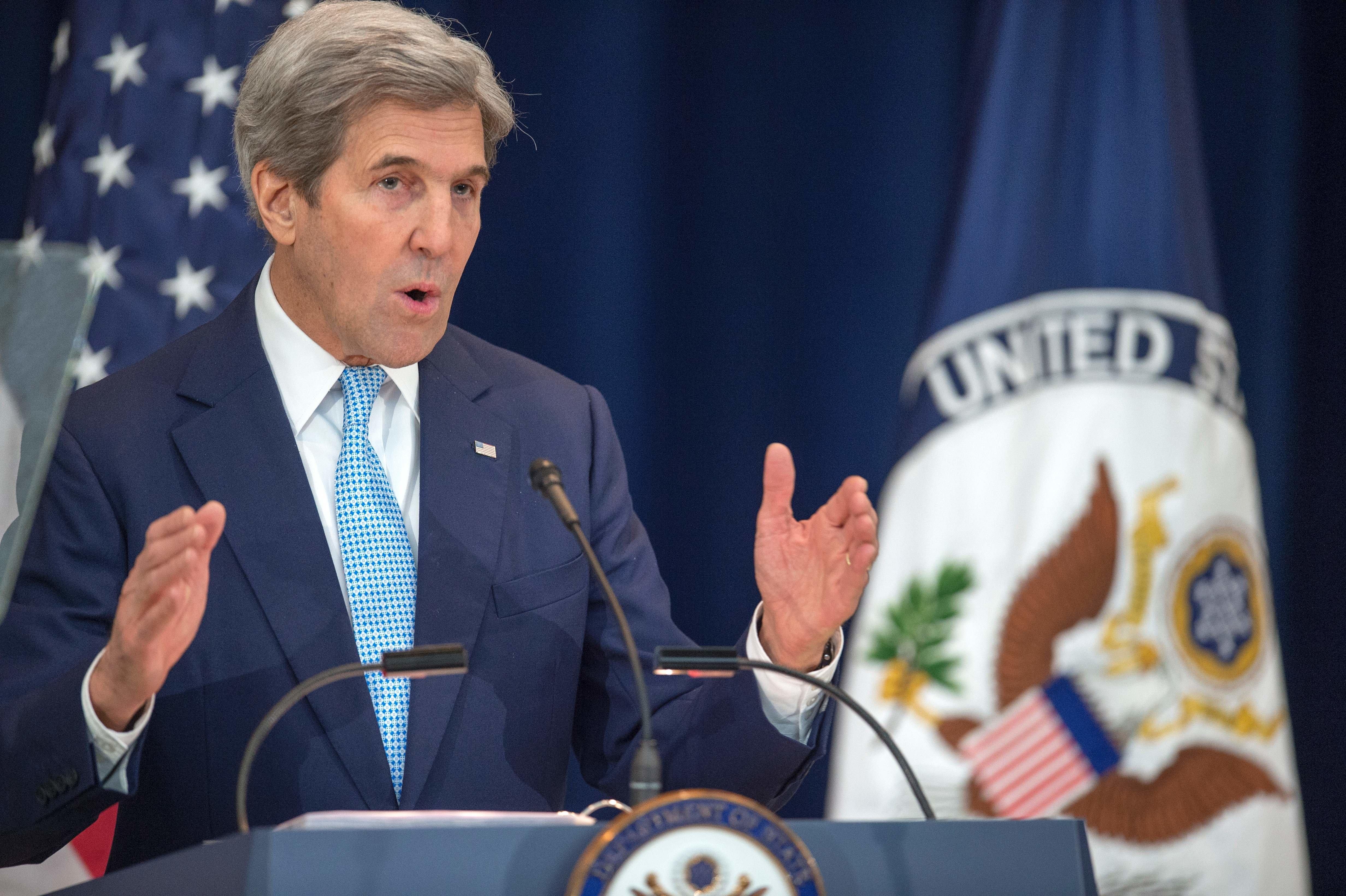 Kerry Issues Dire Warning On Israeli Settlements Ahead Of Trump's