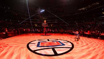 LOS ANGELES, CA - DECEMBER 26:  A general view of the court before a game between the Denver Nuggets and the LA Clippers on December 26, 2016 at the STAPLES Center in Los Angeles, California. NOTE TO USER: User expressly acknowledges and agrees that, by downloading and/or using this photograph, user is consenting to the terms and conditions of the Getty Images License Agreement. Mandatory Copyright Notice: Copyright 2016 NBAE (Photo by Andrew D. Bernstein/NBAE via Getty Images)