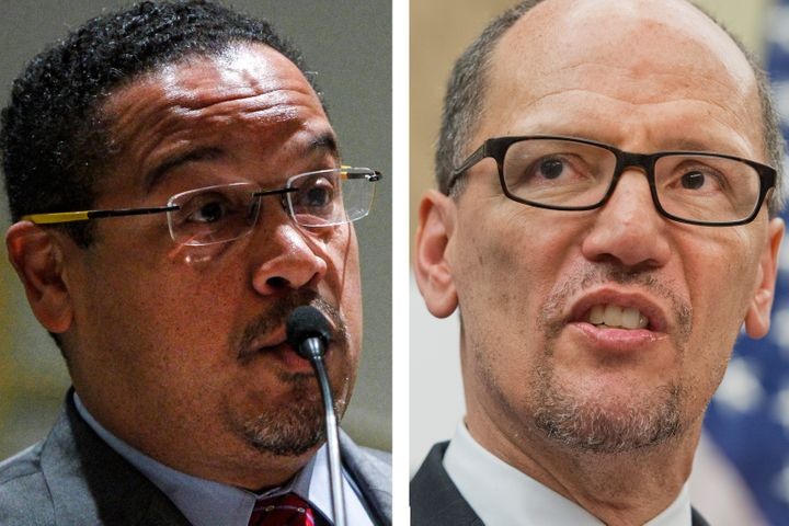 Rep. Keith Ellison (D-Minn.) and Labor Secretary Tom Perez have not yet weighed in on the U.S. resolution.