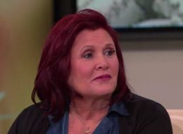 This Moment From Carrie Fisher's Candid 'Oprah Show' Interview Is The Definition Of Bravery