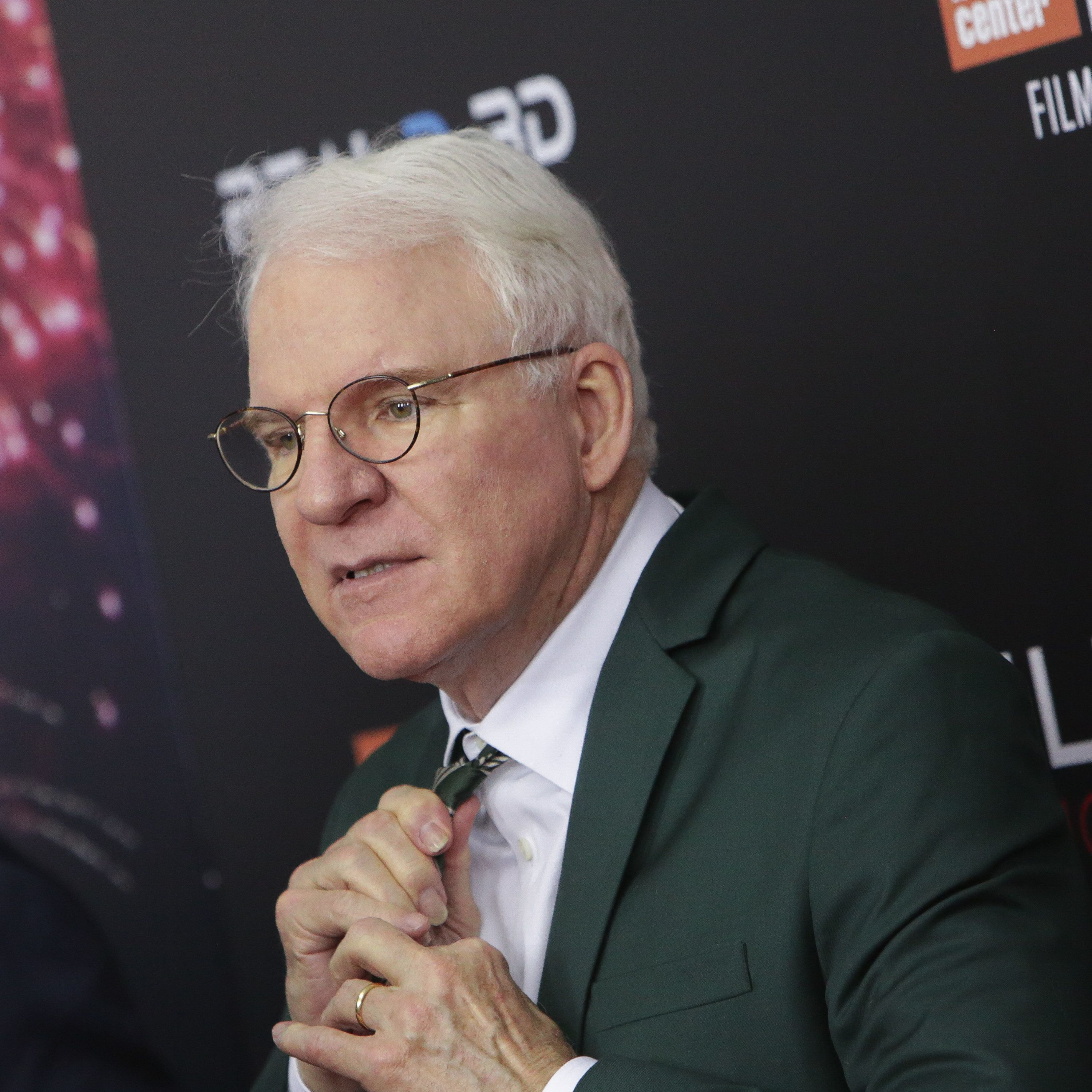 NEW YORK, NY - OCTOBER 14:  Actor Steve Martin attends the 54th New York Film Festival 'Billy Lynn's Long Halftime Walk' premiere held at AMC Lincoln Square Theater on October 14, 2016 in New York City.  (Photo by Brent N. Clarke/FilmMagic)