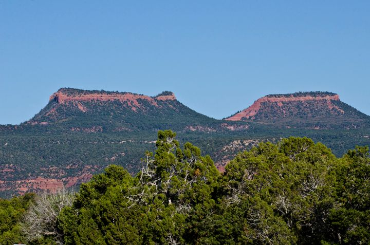 Bear's Ears, pictured from near Natural Bridges National Monument, is sacred to Native Americans.