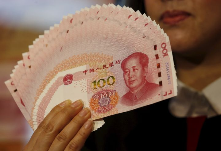 China's currency, the renminbi, was devalued by 2 percent this summer.