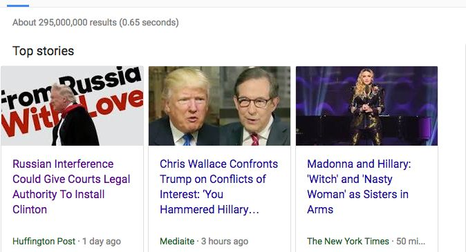 SURPRISE! That moment when you wake up to realize yours is the top story on Google News.