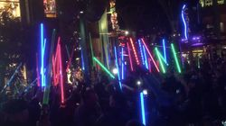 Fans Raise Lightsabers Around The Country In Tribute To Carrie