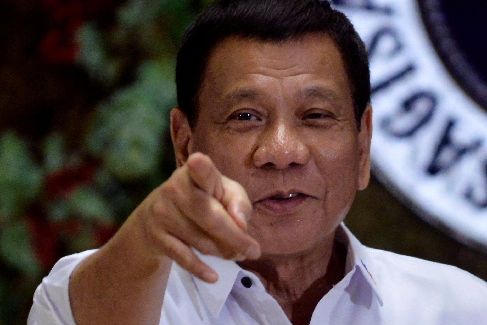 Philippine President Rodrigo Duterteclaimedhe once hurled a man suspected of rape and murder...