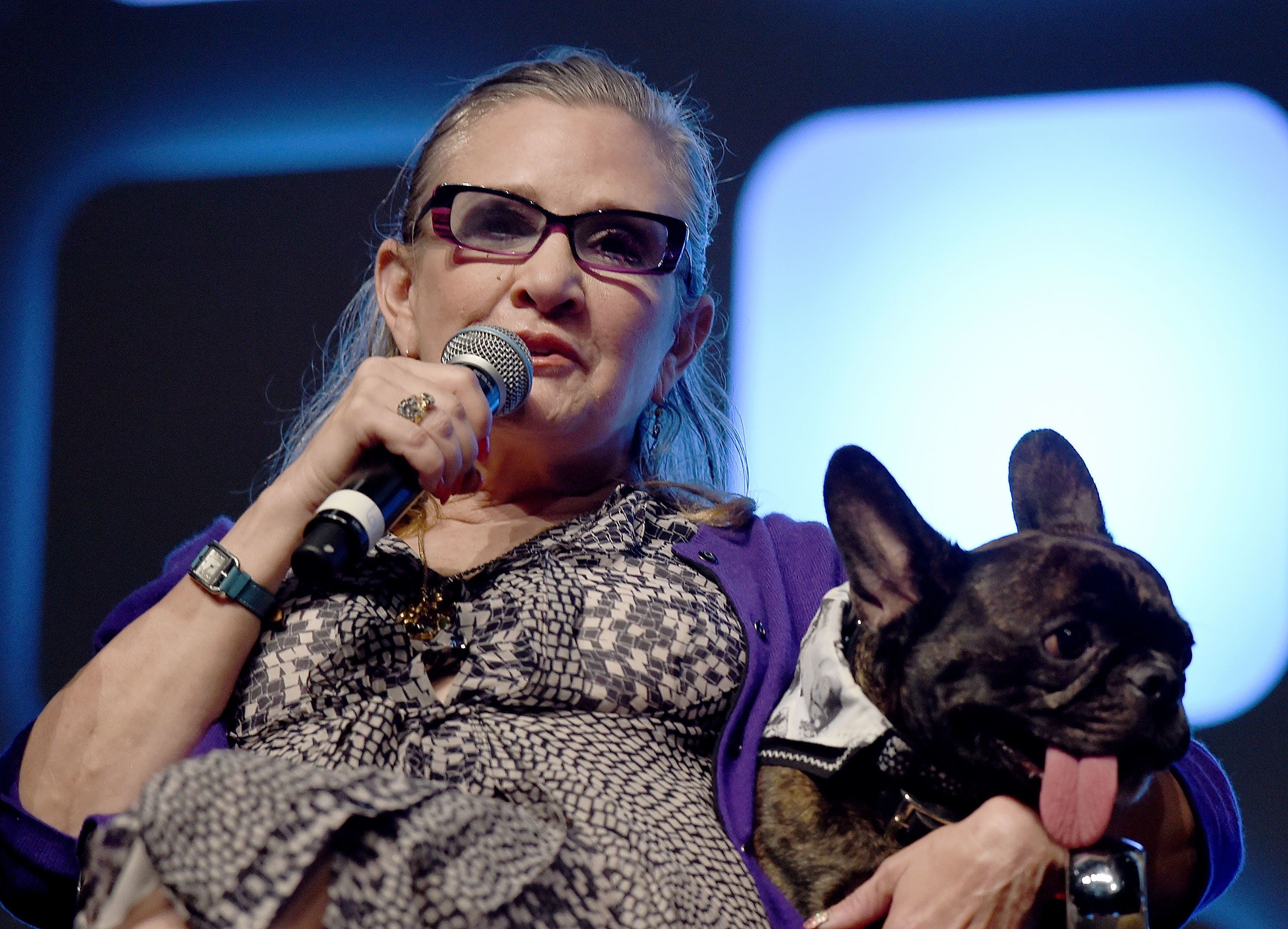 Don't Worry, Carrie Fisher's Dog Gary Has Got A New