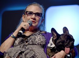 Don't Worry, Carrie Fisher's Dog Gary Has Got A New Home