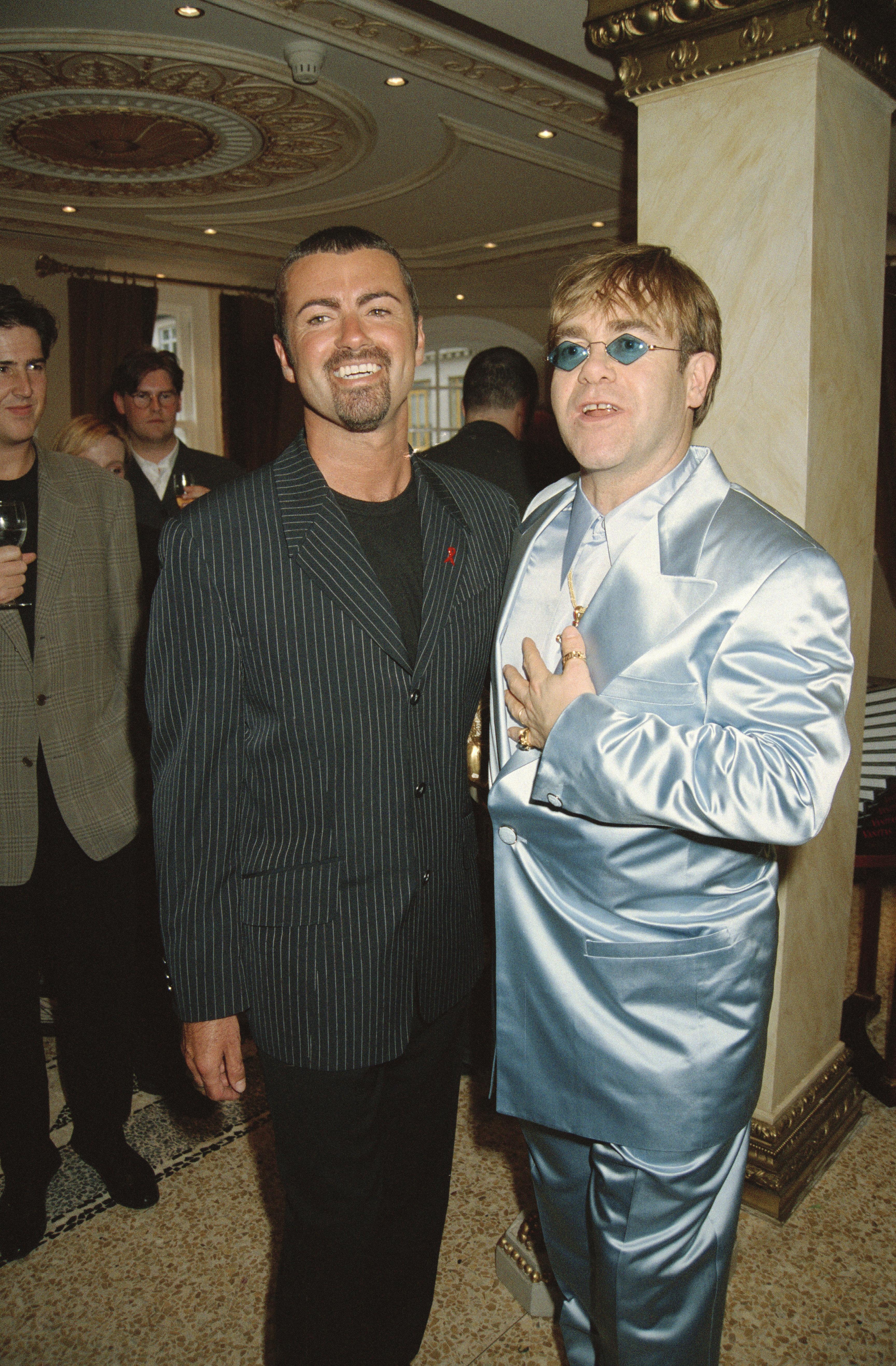 Elton John Breaks Down As He Makes Emotional Musical Tribute To Pal George