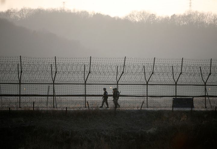 It's unusual for a North Korean to cross the heavily mined demilitarized zone, lined with barbed wire and soldiers on both si