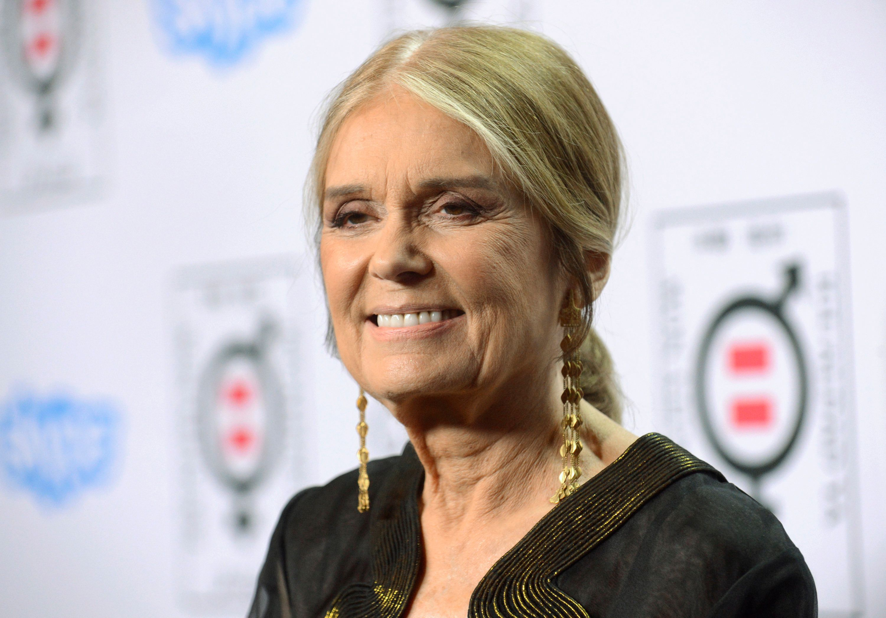 """Writer and activist Gloria Steinem attends the """"Make Equality Reality"""" event held in Beverly Hills, California November 3, 2014. REUTERS/Phil McCarten (UNITED STATES - Tags: ENTERTAINMENT HEADSHOT)"""