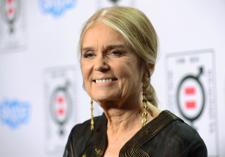 """Writer and activist Gloria Steinem attends the """"Make Equality Reality"""" event in Beverly Hills on Nov. 3, 2014."""